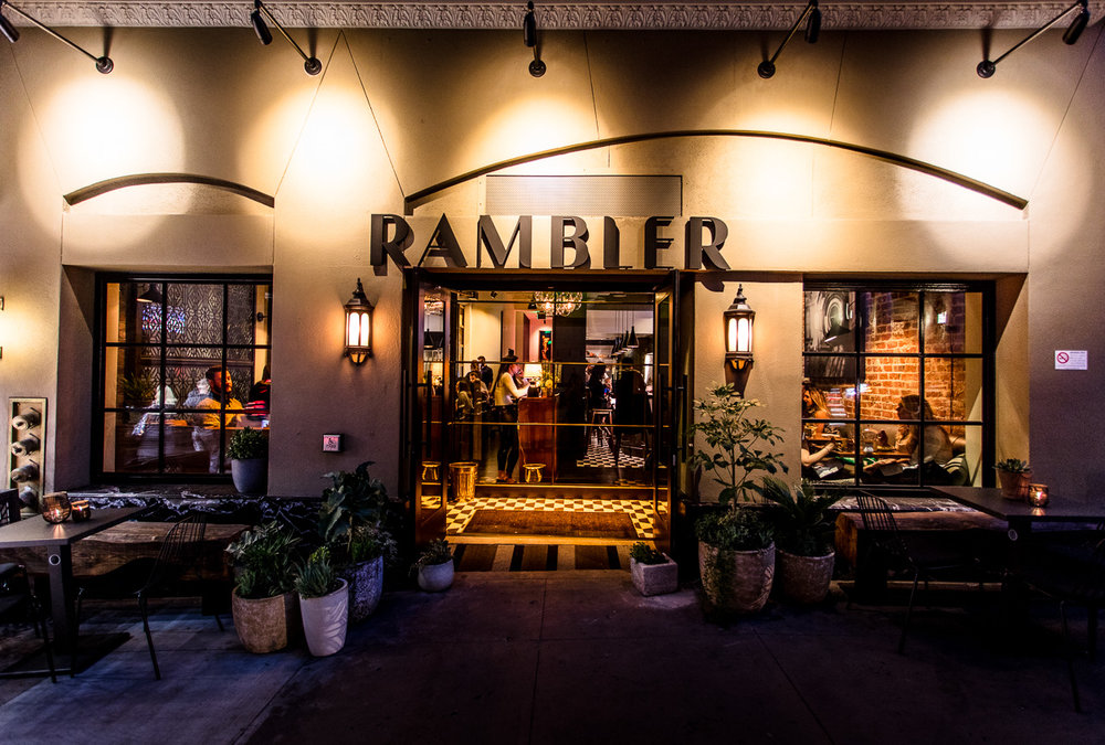Hat Trick Hospitality's newest addition, Rambler is a deluxe restaurant and bar located in Hotel Zeppelin.