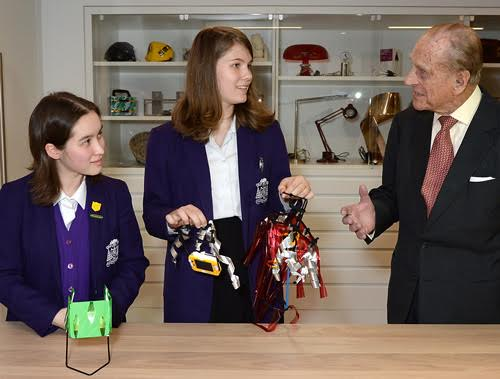 prince philip at the design museum