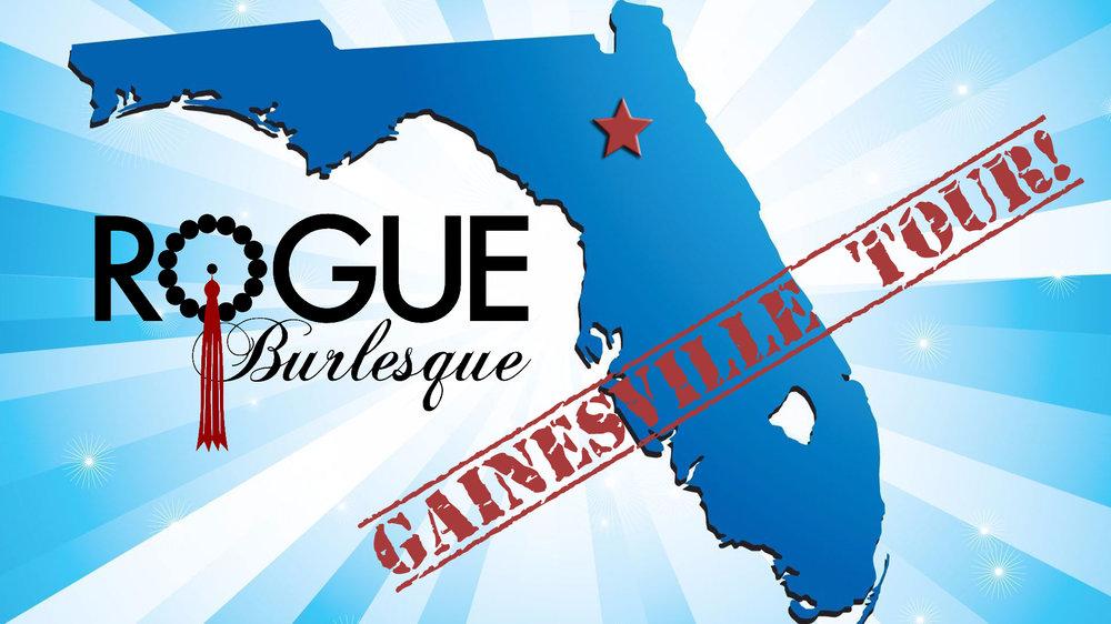 Rogue Burlesque Gainesville Florida Tour