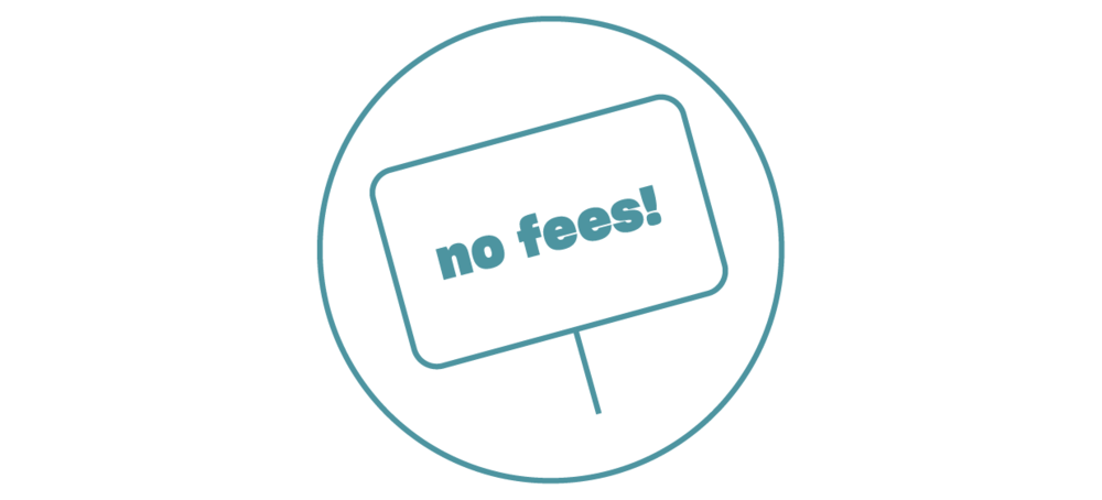 No Fees - No monthly fees. No overdraft fees. No cash-back fees. No hidden fees. No fine print...you get the idea.