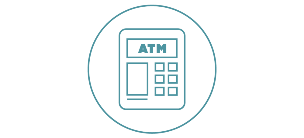 Free ATMs - Your Motiv debit card also gets you free withdrawals at 25,000+ ATMs. It works at all the other ones but, you know, they have fees.
