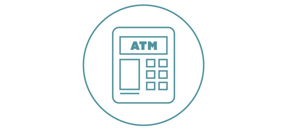 Cajeros Automáticos ATM Gratis - Tu tarjeta de débito Motiv también le permita realizar retiros gratuitos en más de 25,000 cajeros automáticos ATMs. Funciona en todos los demás pero, ya sabes, tienen tarifas de terceros.