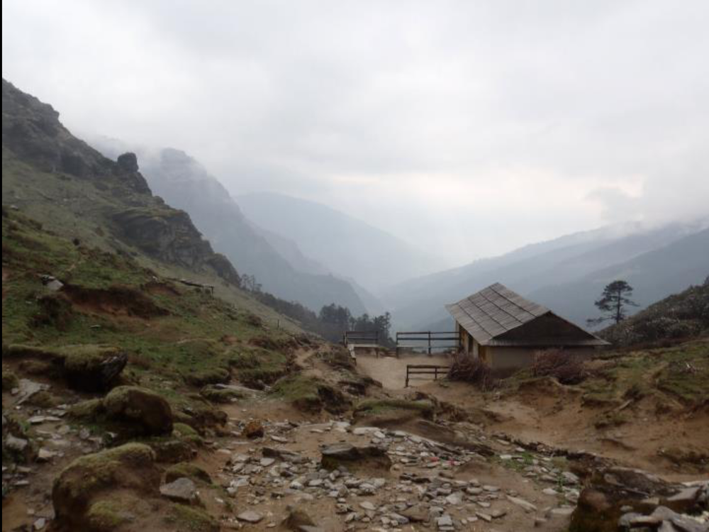 Lamjura La (3580m).