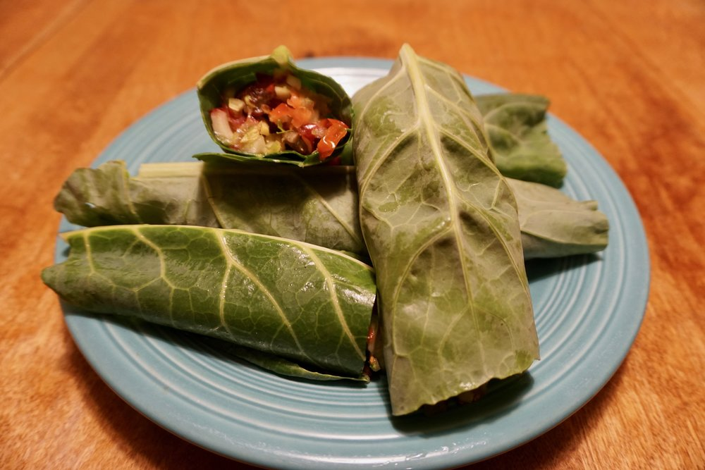Collard Grape Wraps