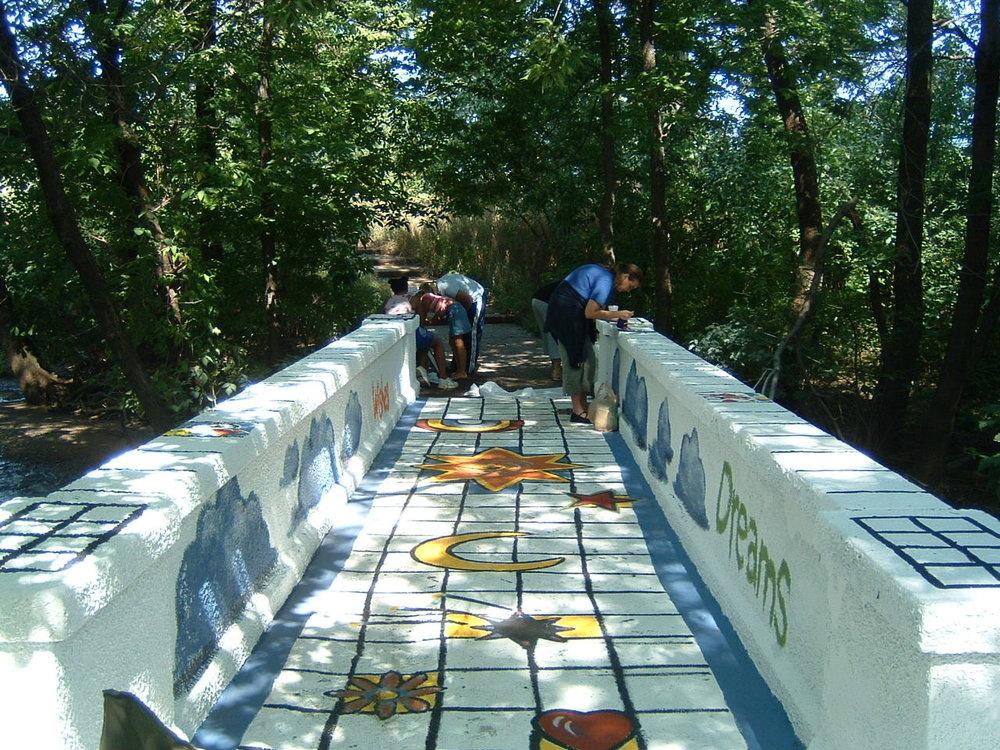 Bridge of Dreams art project - detail