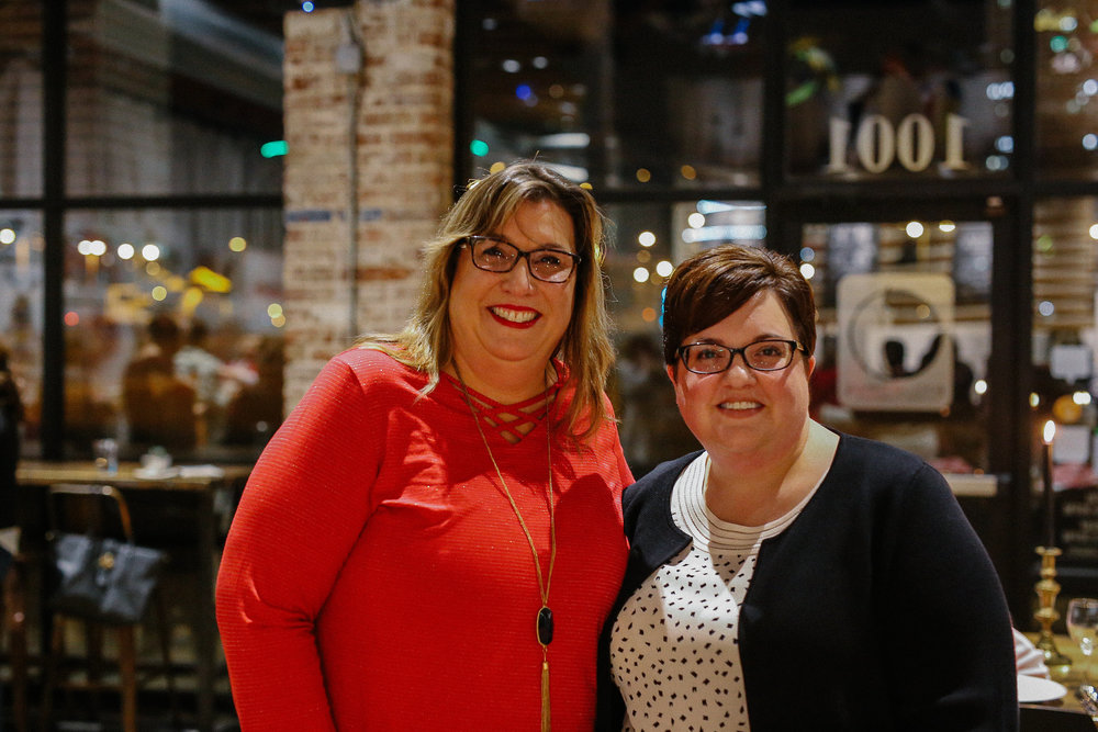 SHARI & CELESTE : If there's something cool happening in Tulsa, these two know all about it. In their questionnaires, Shari and Celeste both shared their affinity for T-Town and all there is to do around here. We can only imagine the fun these gals get into. So hip!