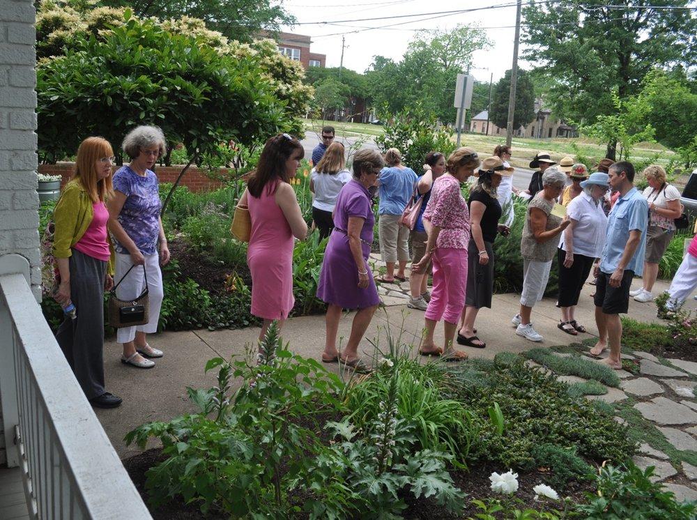 Garden Club Garden Tour