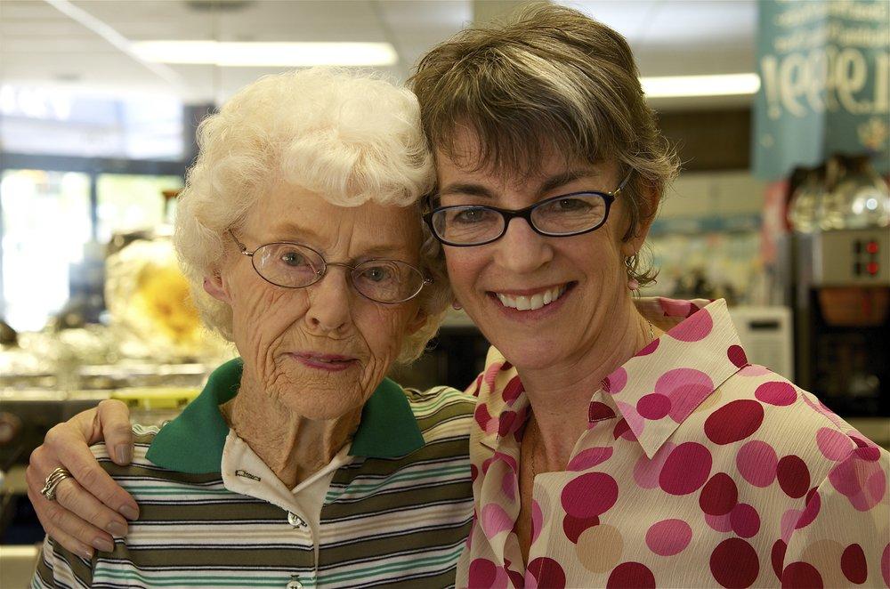 Ruby Bullock (left)