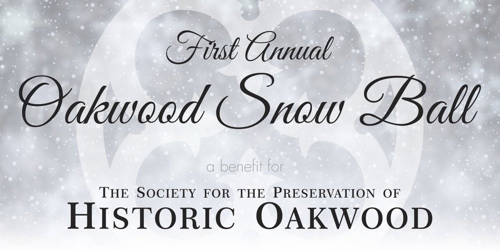 First Annual Oakwood Snow Ball