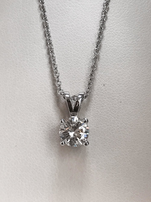 diamond necklace en single