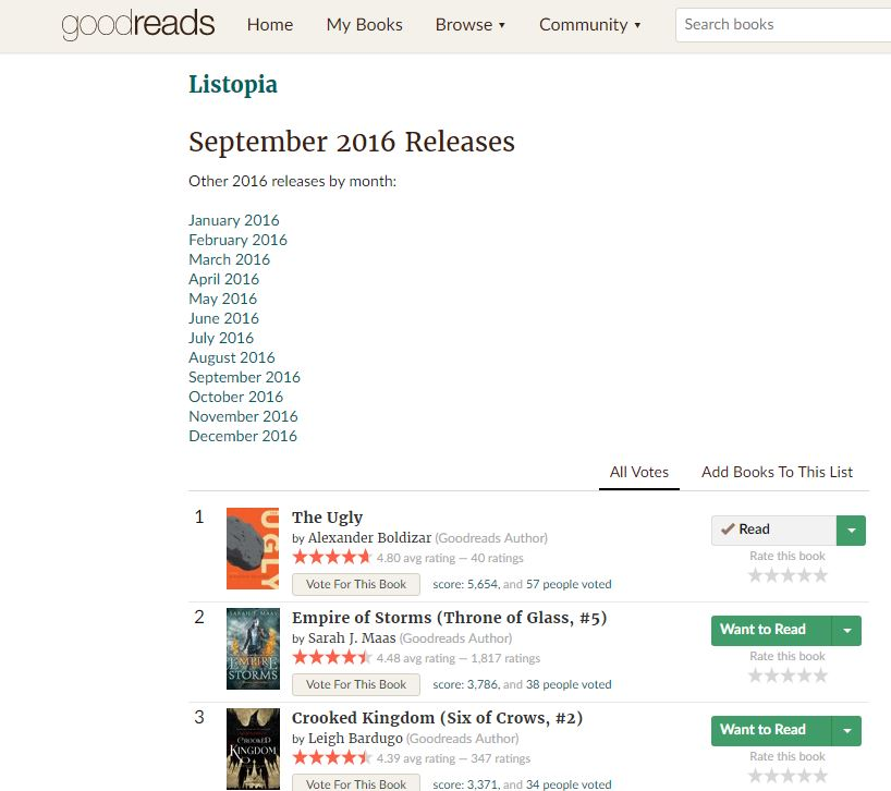 Goodreads no 1