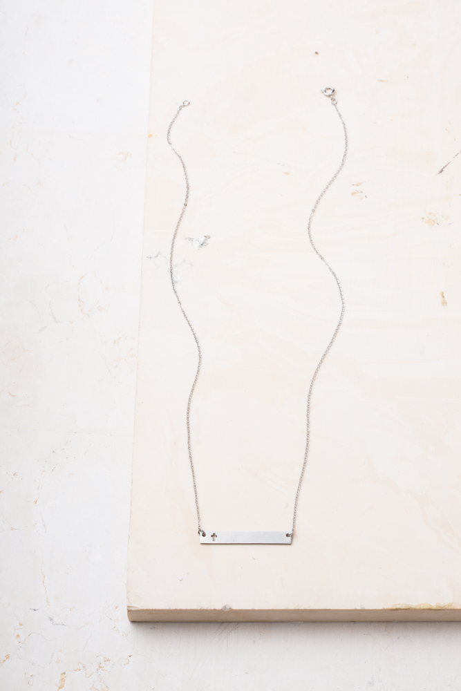 Layla Cross Bar Necklace $42.99