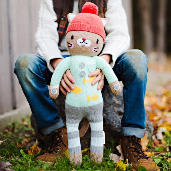 "Sweet Maximus is suited up & ready for winter adventures! 13"" doll: $45. 20"" doll: $65."