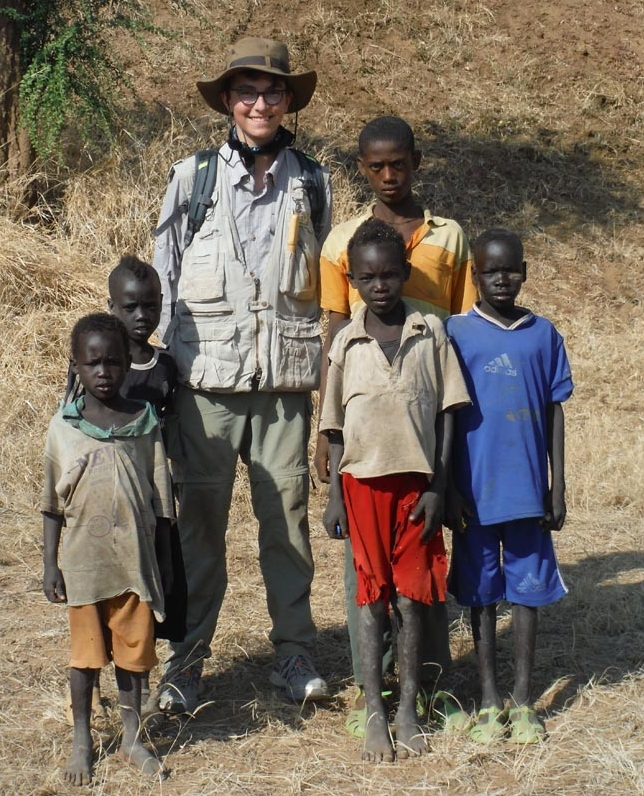 Jack Kappelman with students from area around Gundawoojha