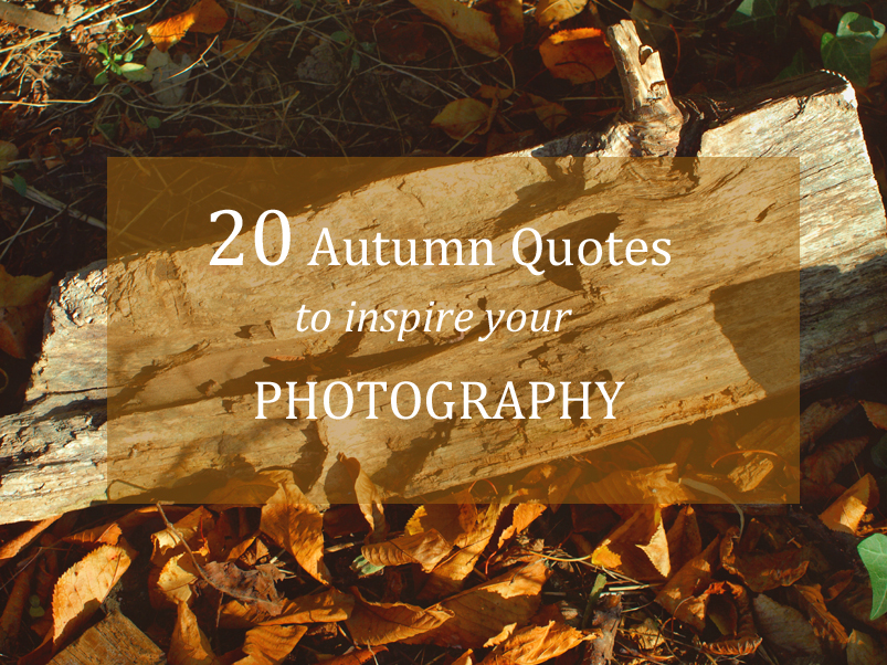20 Autumn Quotes to Inspire your Photography