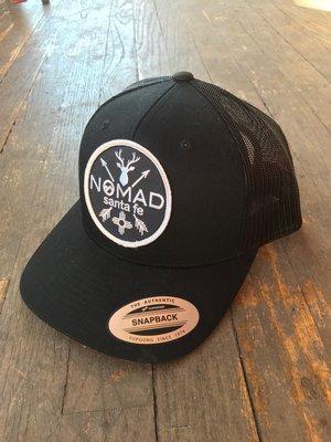 1a2ddf5e Black Mesh Hat Santa Fe