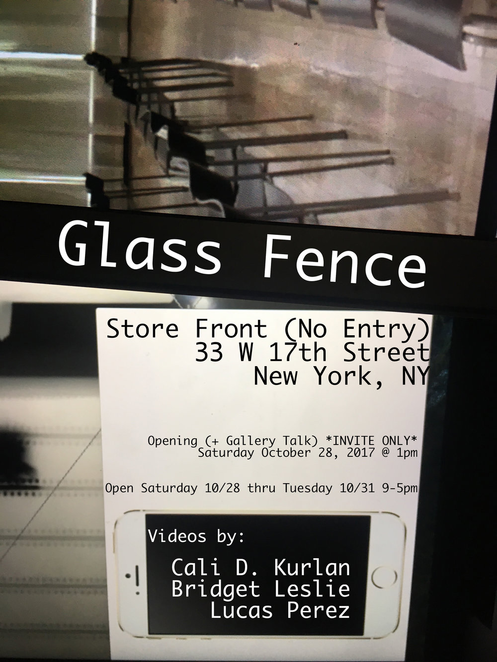 Glass Fence Opening