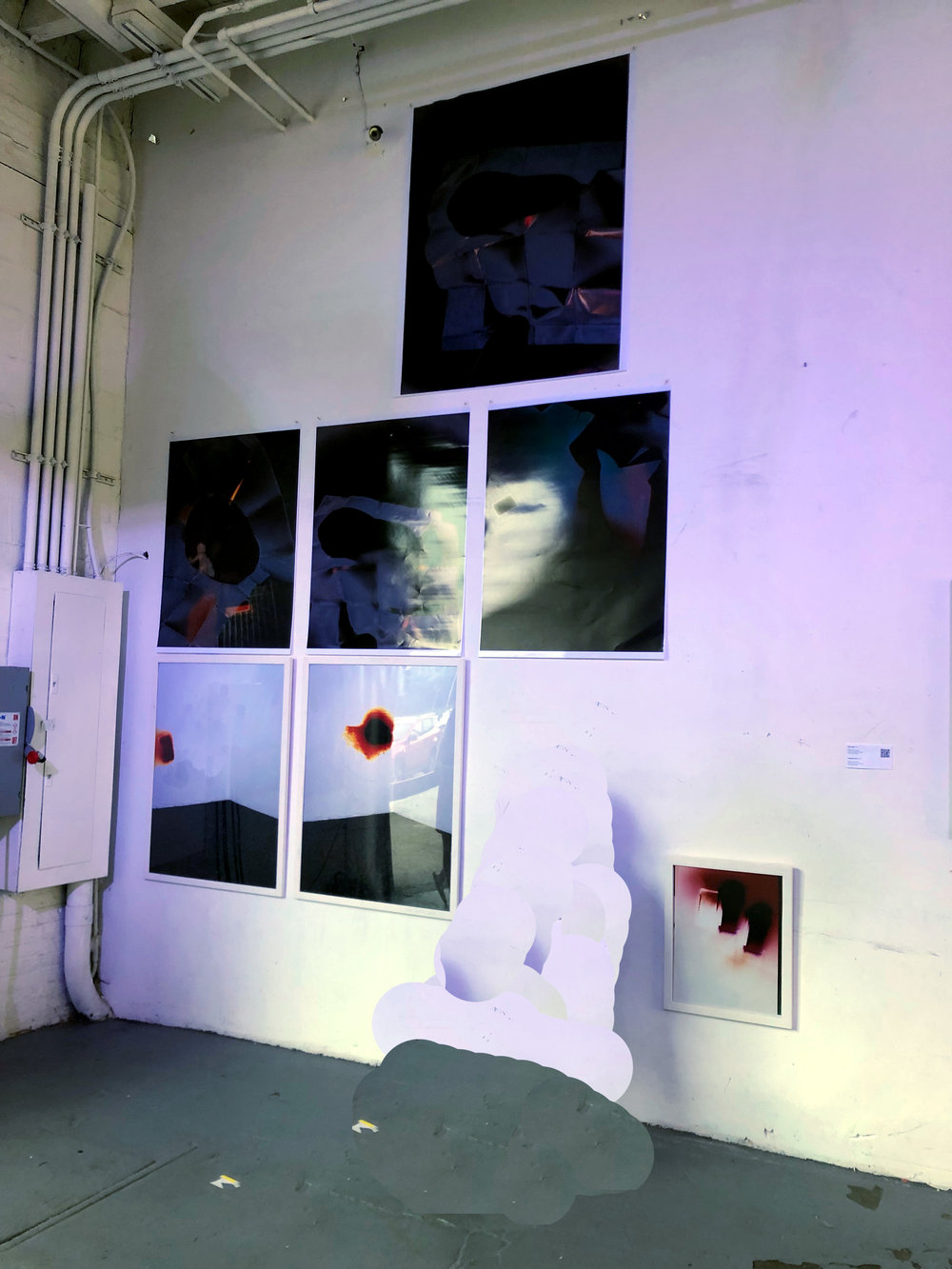 Installation View  Nature I Technology Exhibition, 2018, Beyond Studios NYC