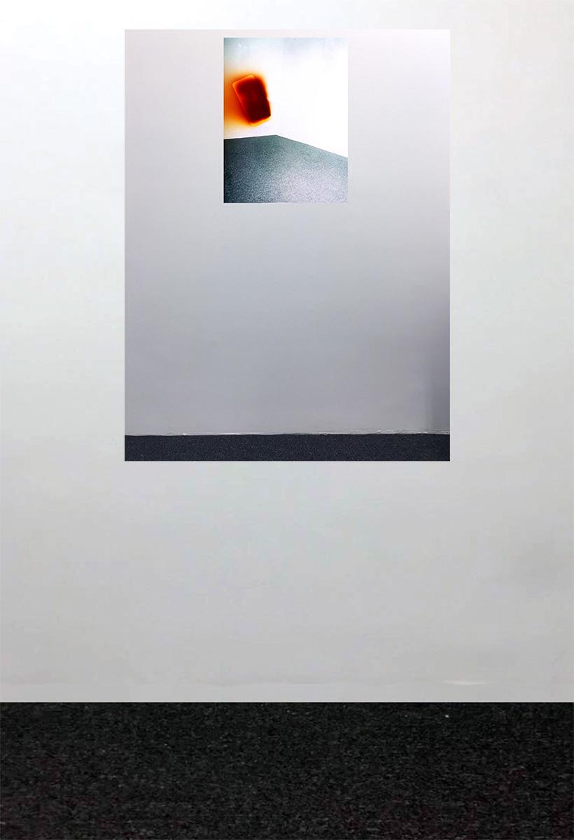 White Walls Exposure_03a  (Installation view), 2016, Digital C-Print