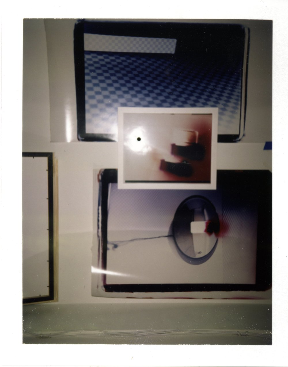 Flash Study_03 , 2017, Polaroid FP-100C