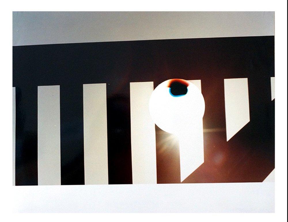 Sun (Artificial)_Rabin Square Memorial,  2016, Chromogenic print  Dérive Exhibition, Tête Galerie, Berlin