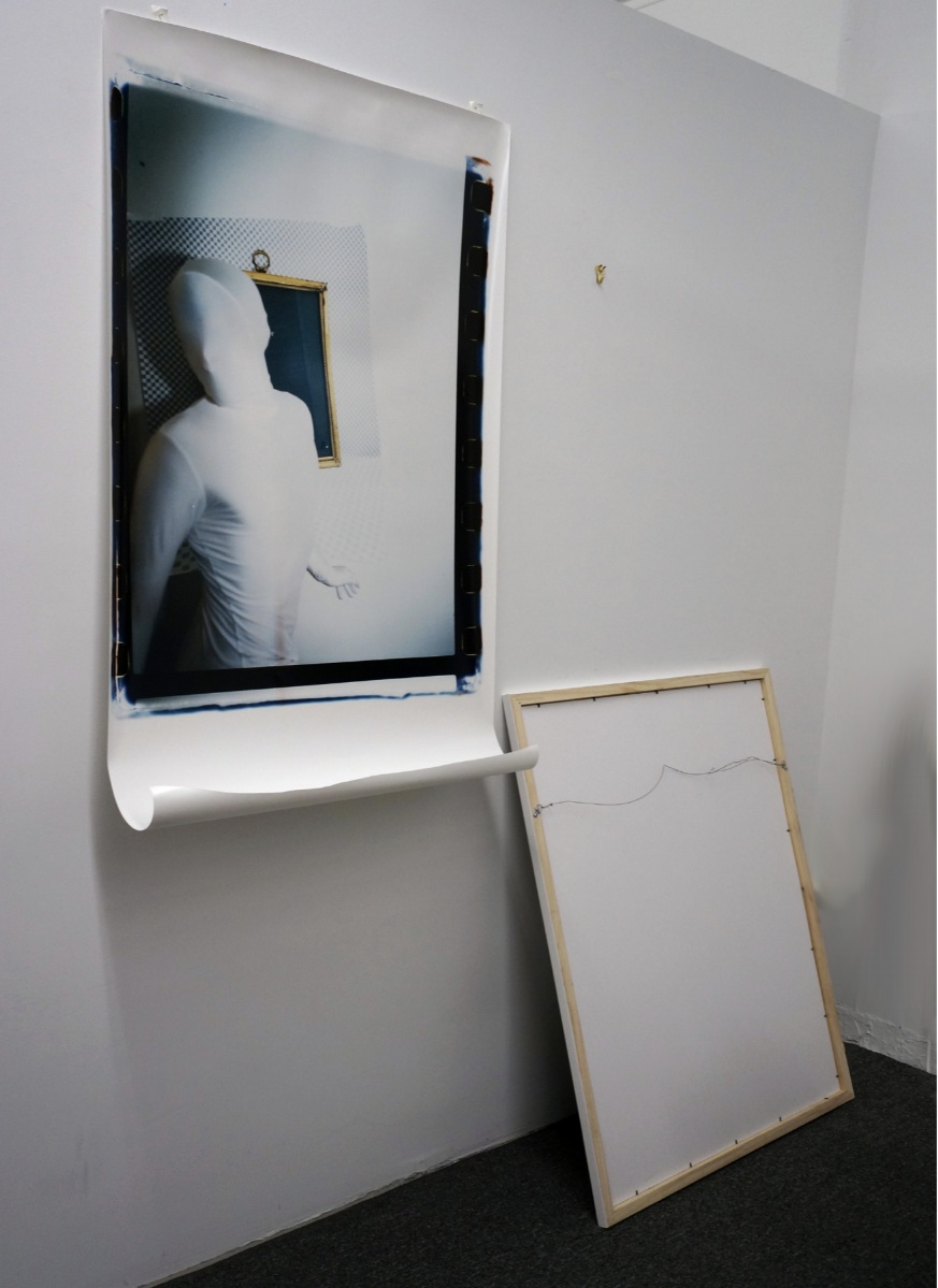 Black Mirror Rejection_01   Installation 2017-2019  Chromogenic print and frame  Dimensions vary