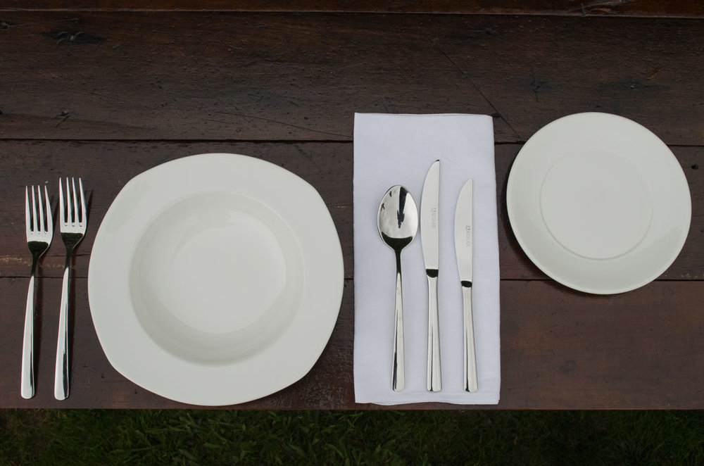 Wedding and event crockery for hire