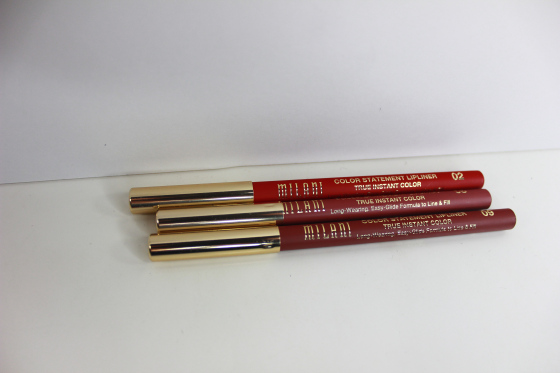 lips milani lip liners
