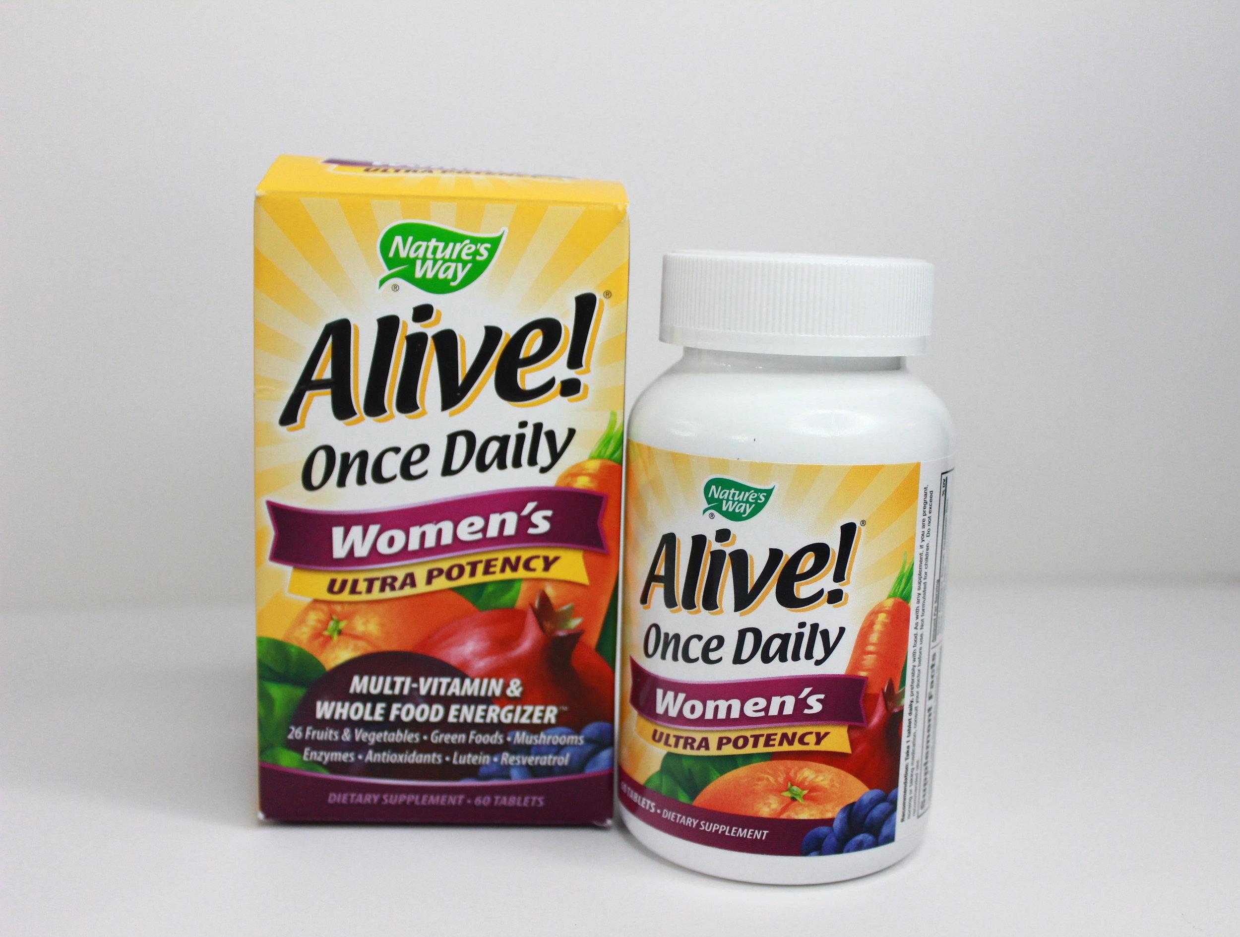 alive whole food vitamins