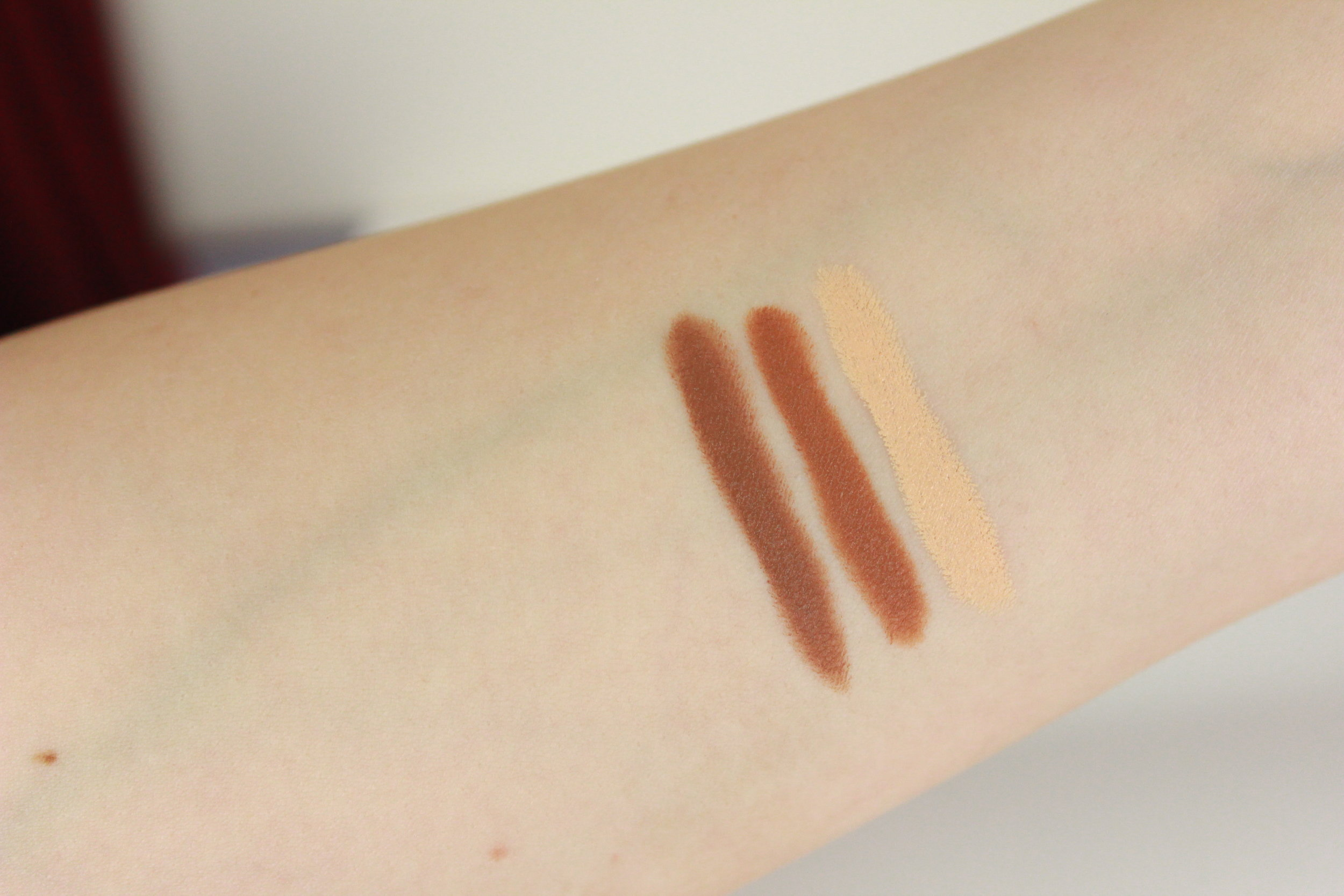 Smashbox Contour Stick Swatches