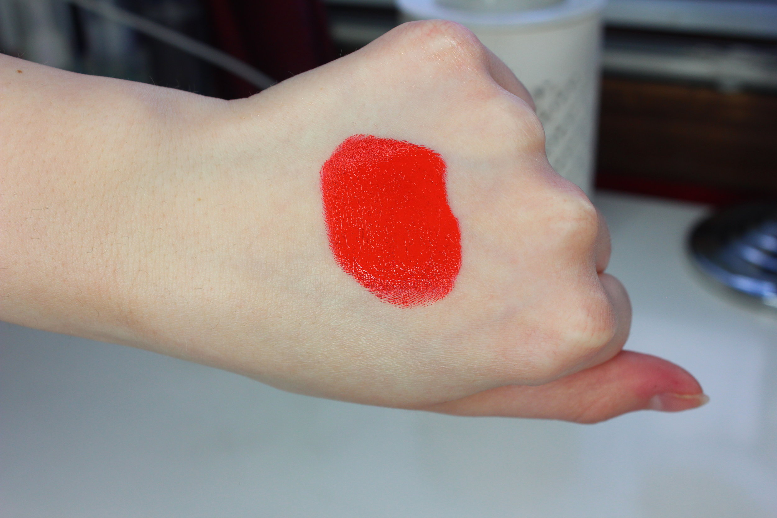 NIA Cosmetics - Fuego Swatch 1