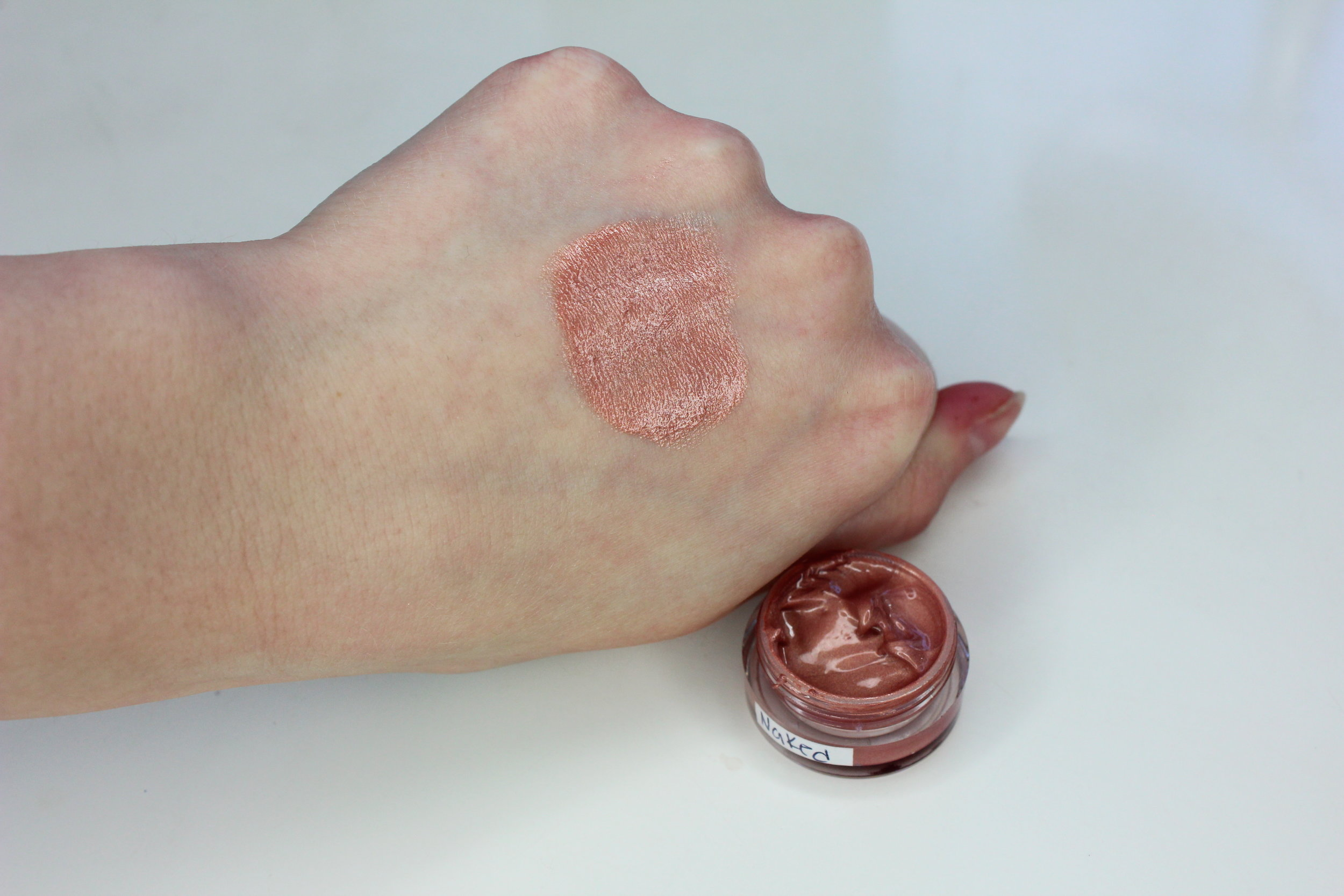 NIA Cosmetics - Naked Swatch 2