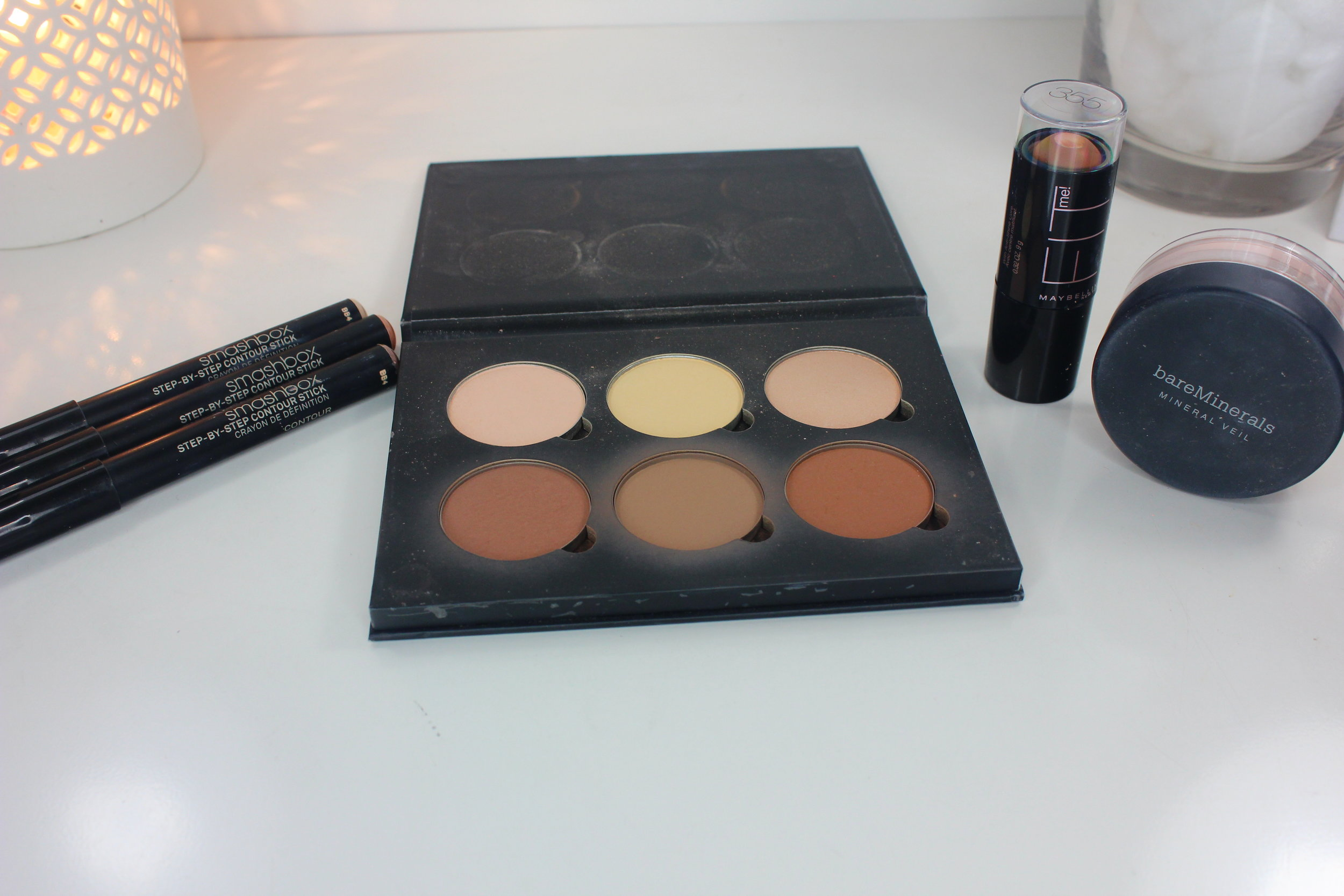 heat-proof, sweat-proof bulletproof makeup - highlighting and contouring long lasting