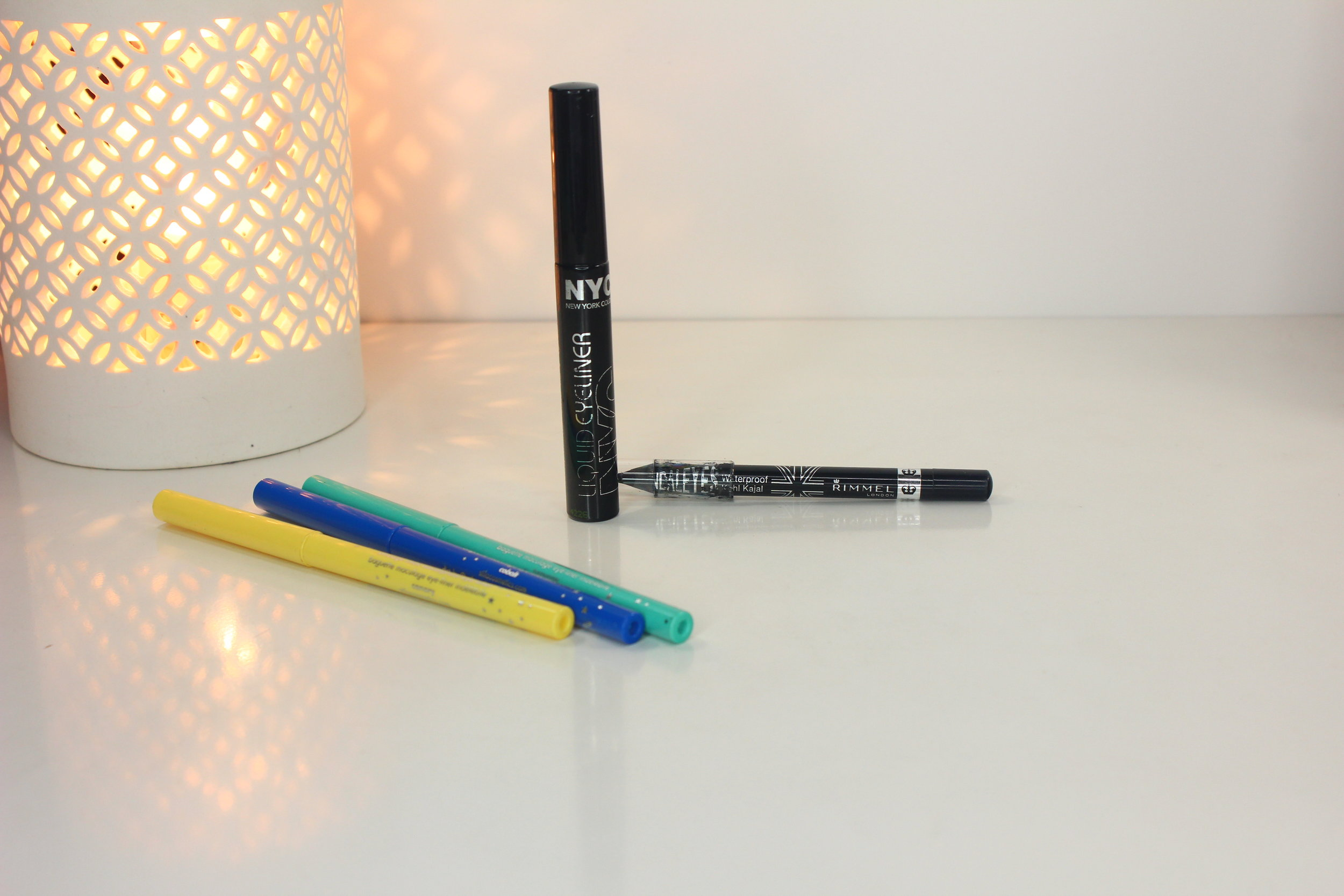 sweat-proof makeup - eyeliners