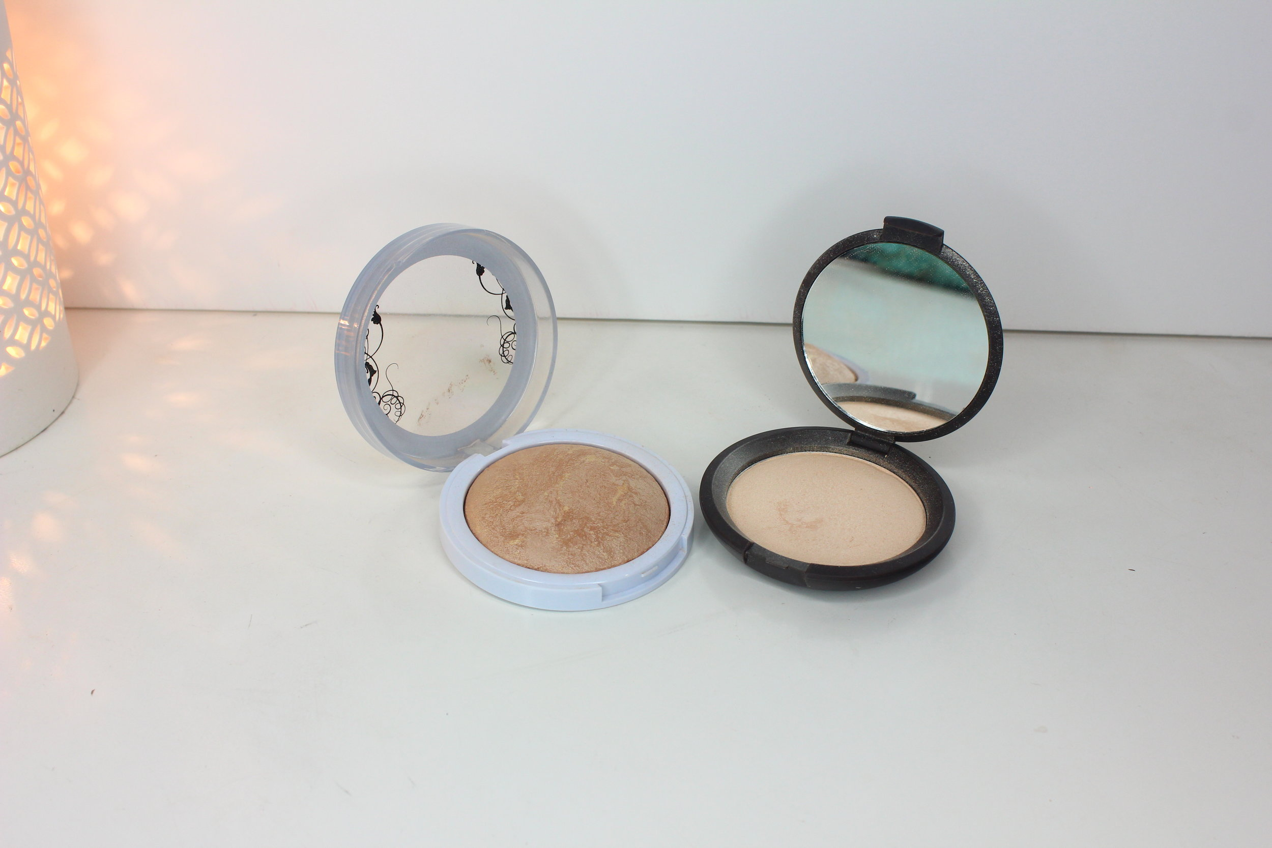 sweat-proof makeup - highlighters