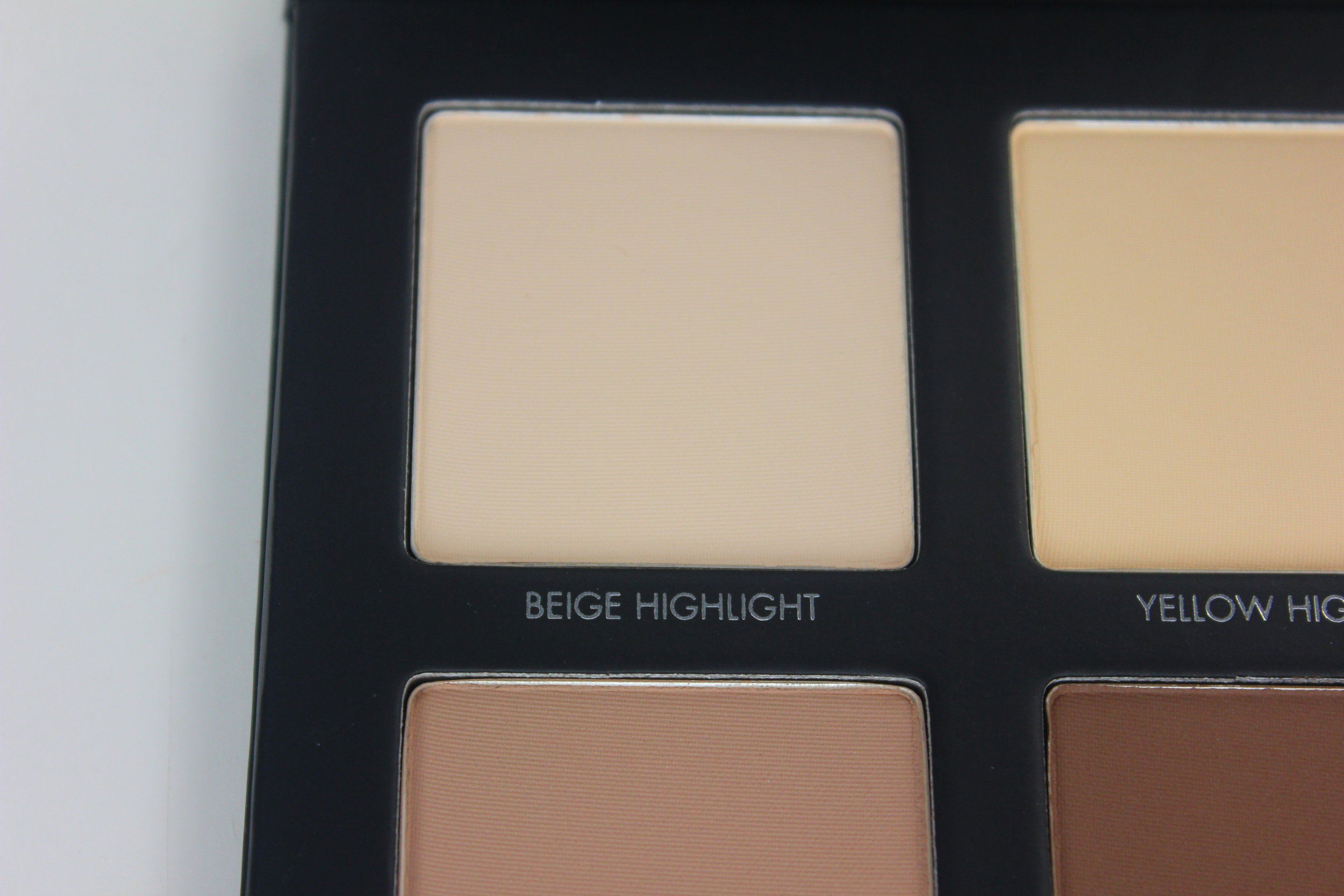 Lorac Pro Contour Palette - Beige Highlight Swatch 1