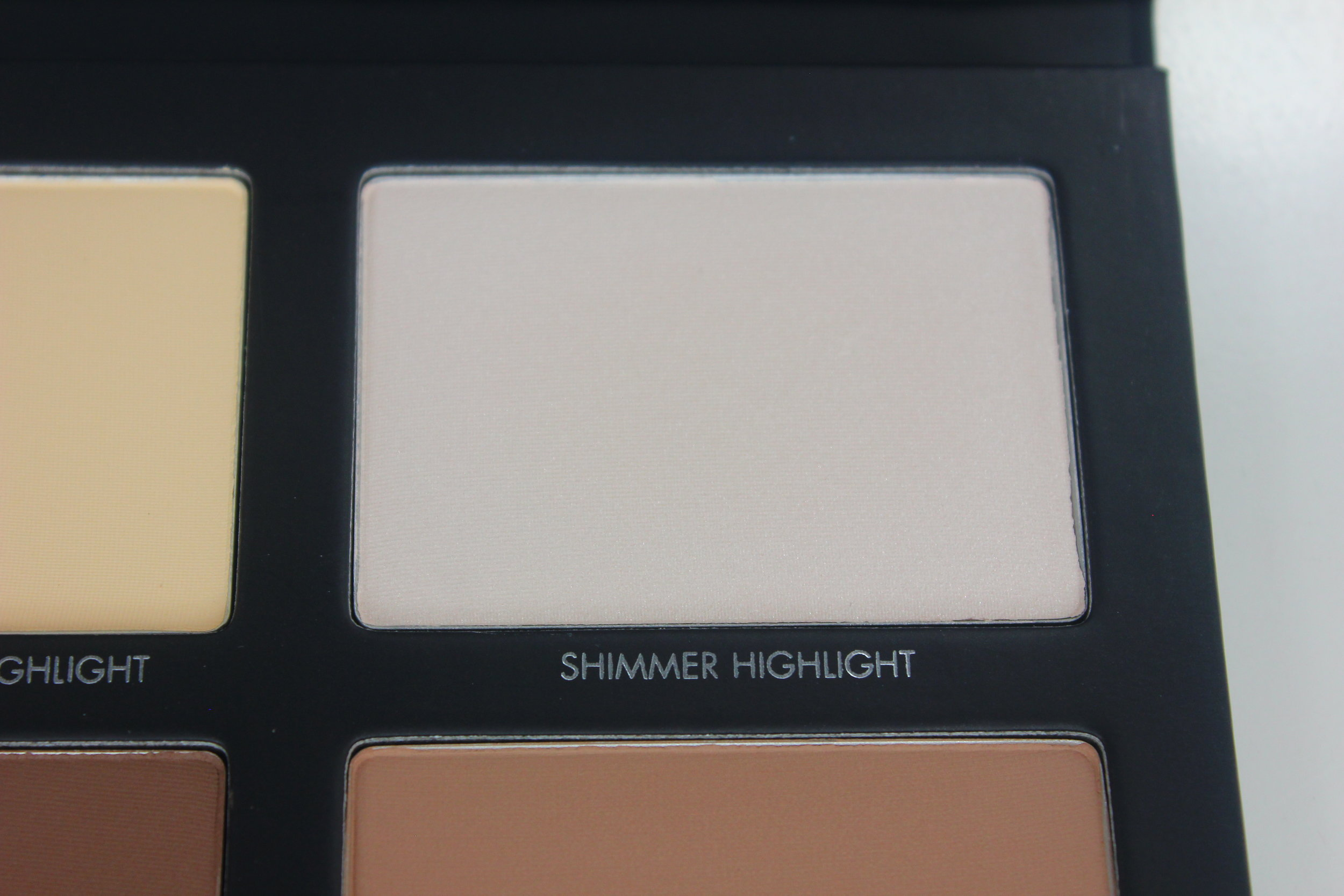Lorac Pro Contour Palette - Shimmer Highlight Swatch 1