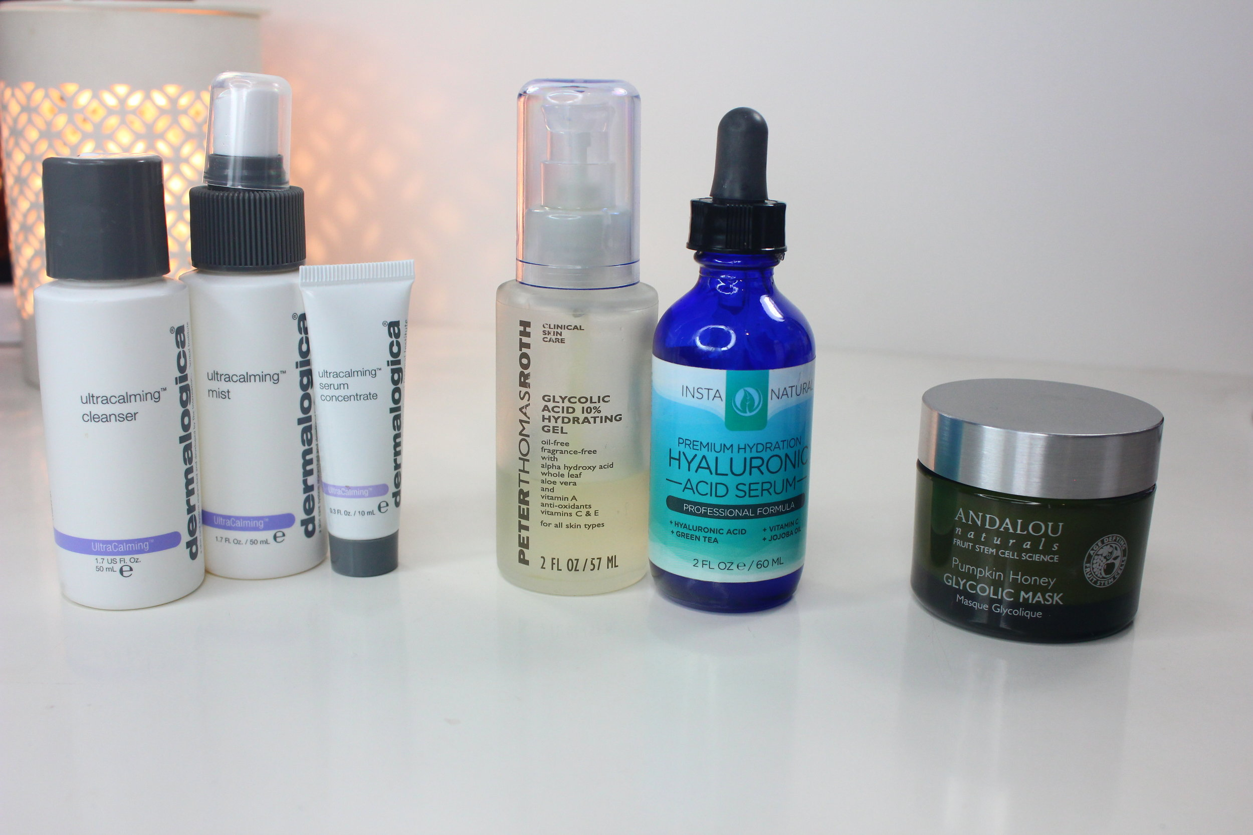 Skin Care Favorites - dermaologica, peter thomas roth, insta natural, andalou naturals