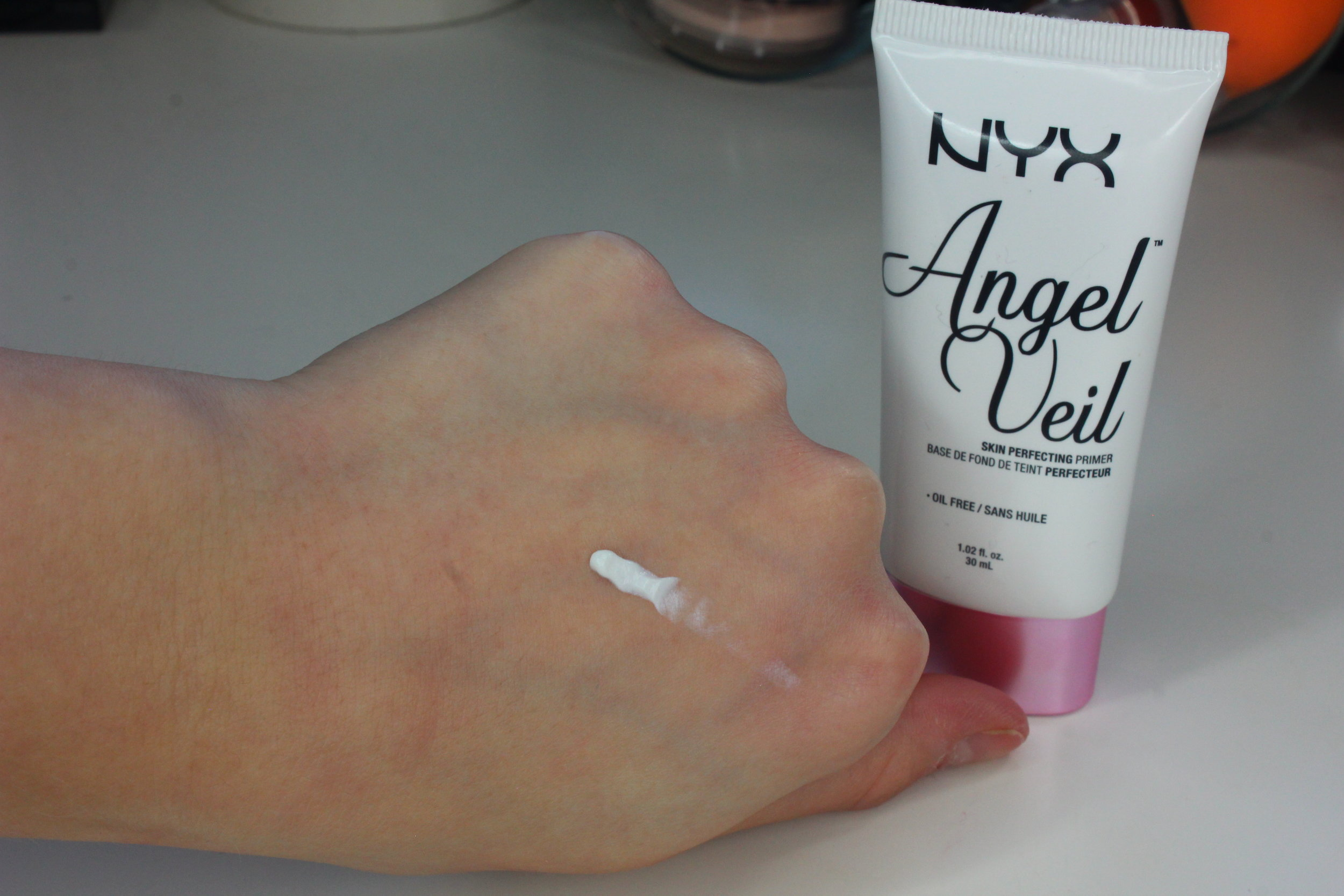 NYX Angel Viel Primer swatches ulta haul
