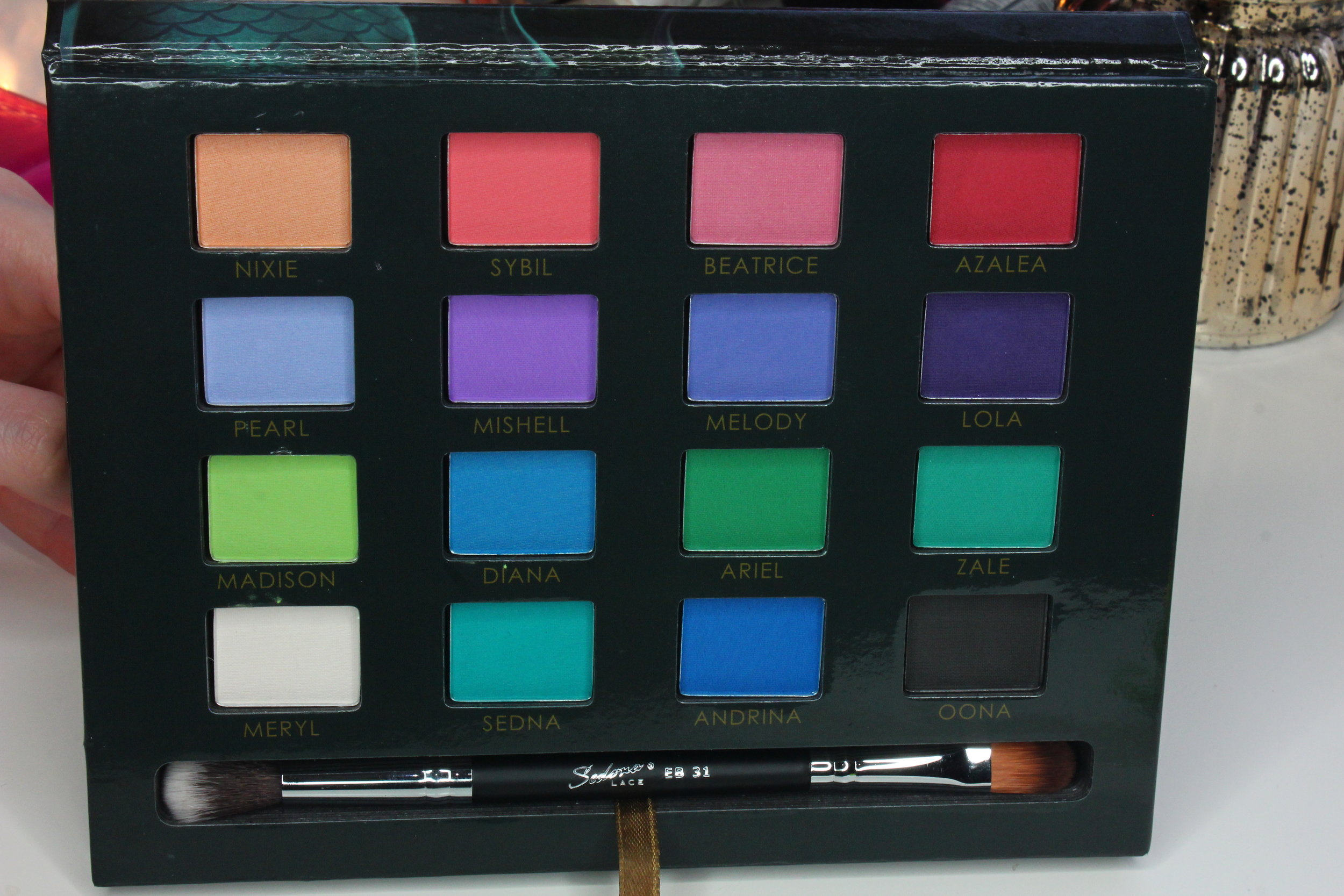 Sedona Lace Mermaids Eyeshadow Palette