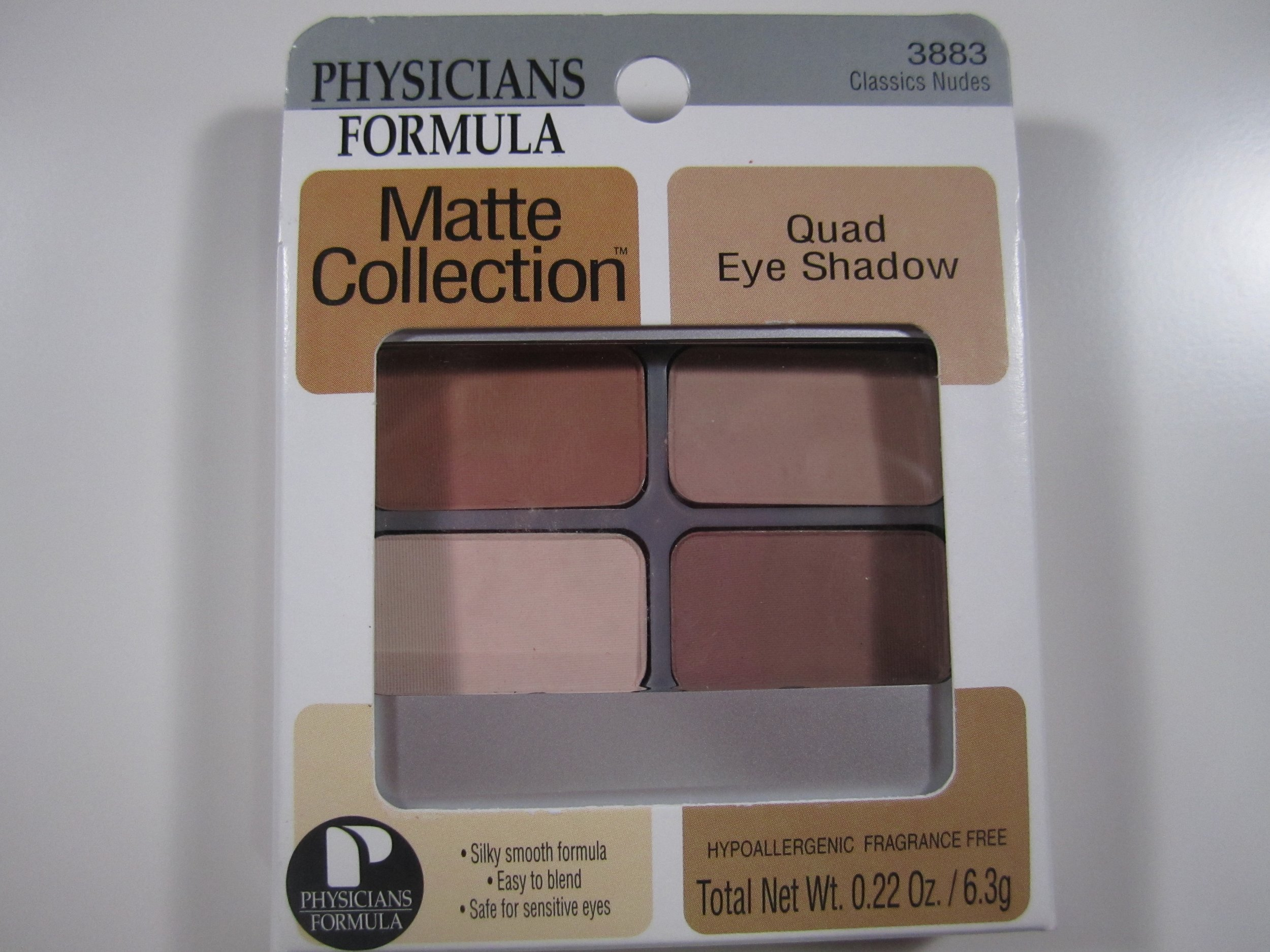 Physicians Formula Eyeshadow Quad In Classic Nudes The Makeup