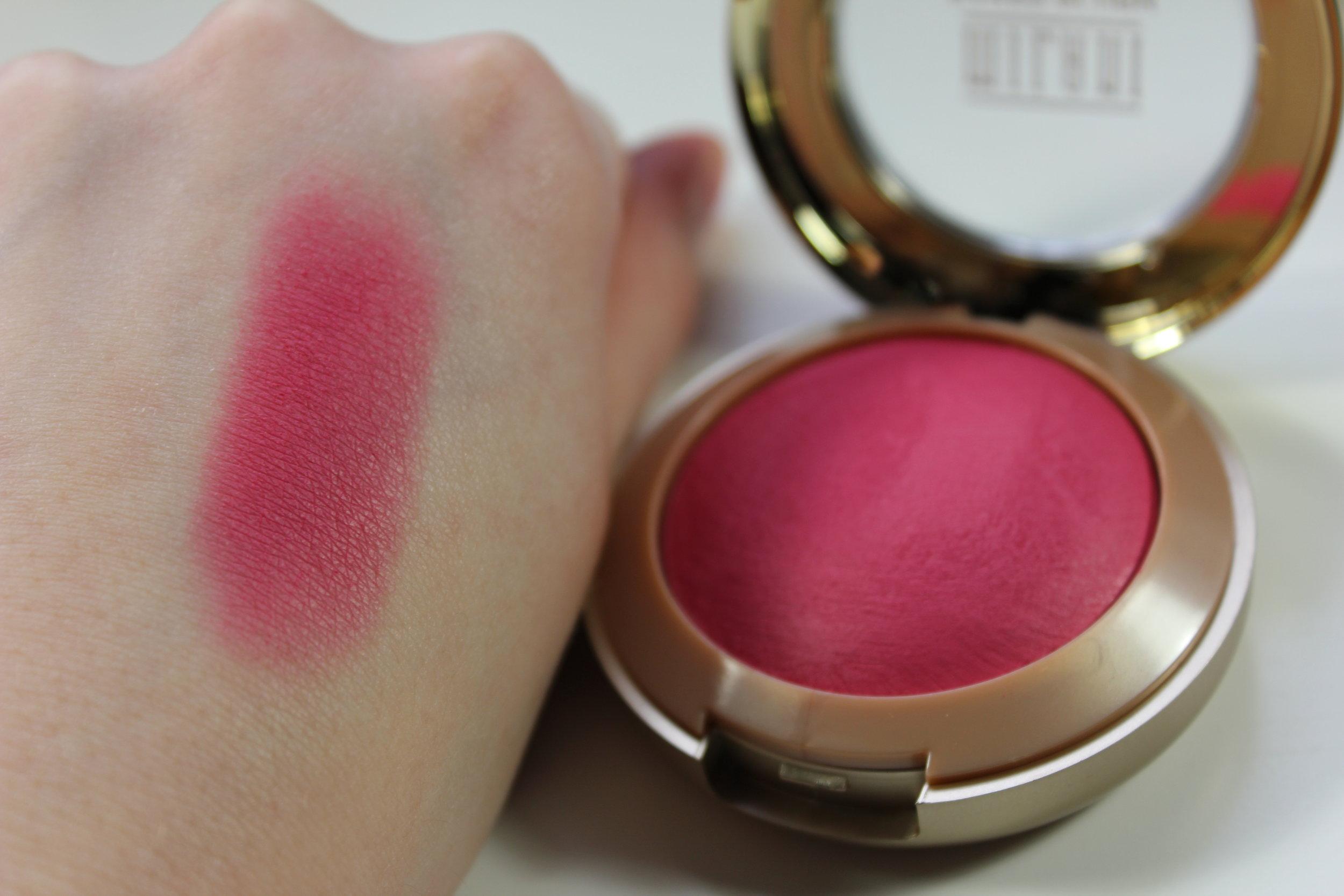 milani 39 s matte baked blush in bella rosa the makeup affair. Black Bedroom Furniture Sets. Home Design Ideas