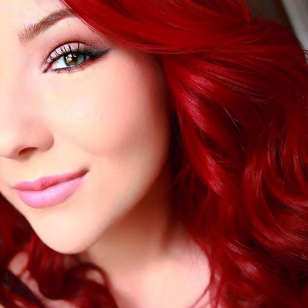 Highly Requested How I Got Bright Red Hair The Makeup