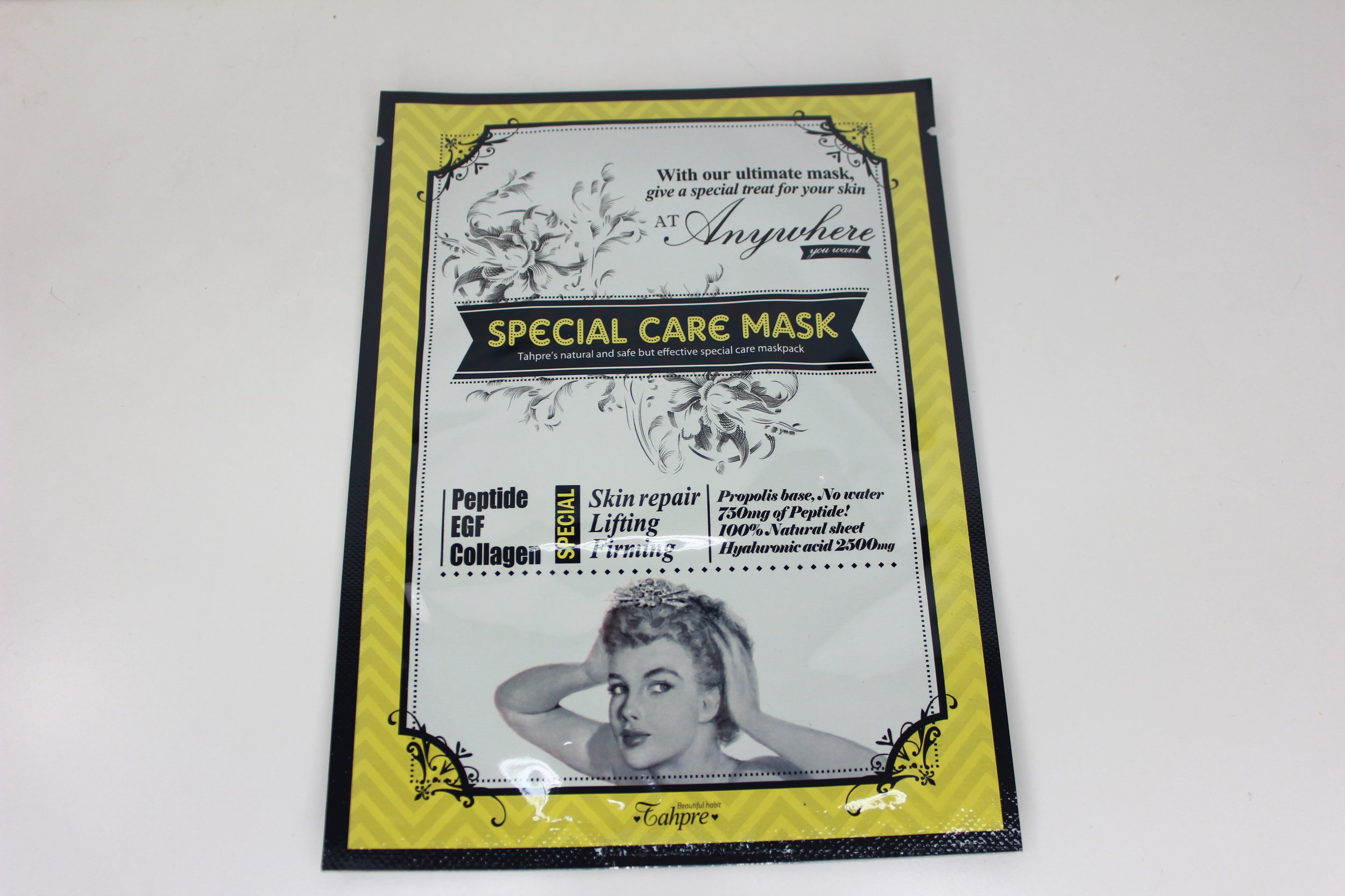 mask skincare memebox