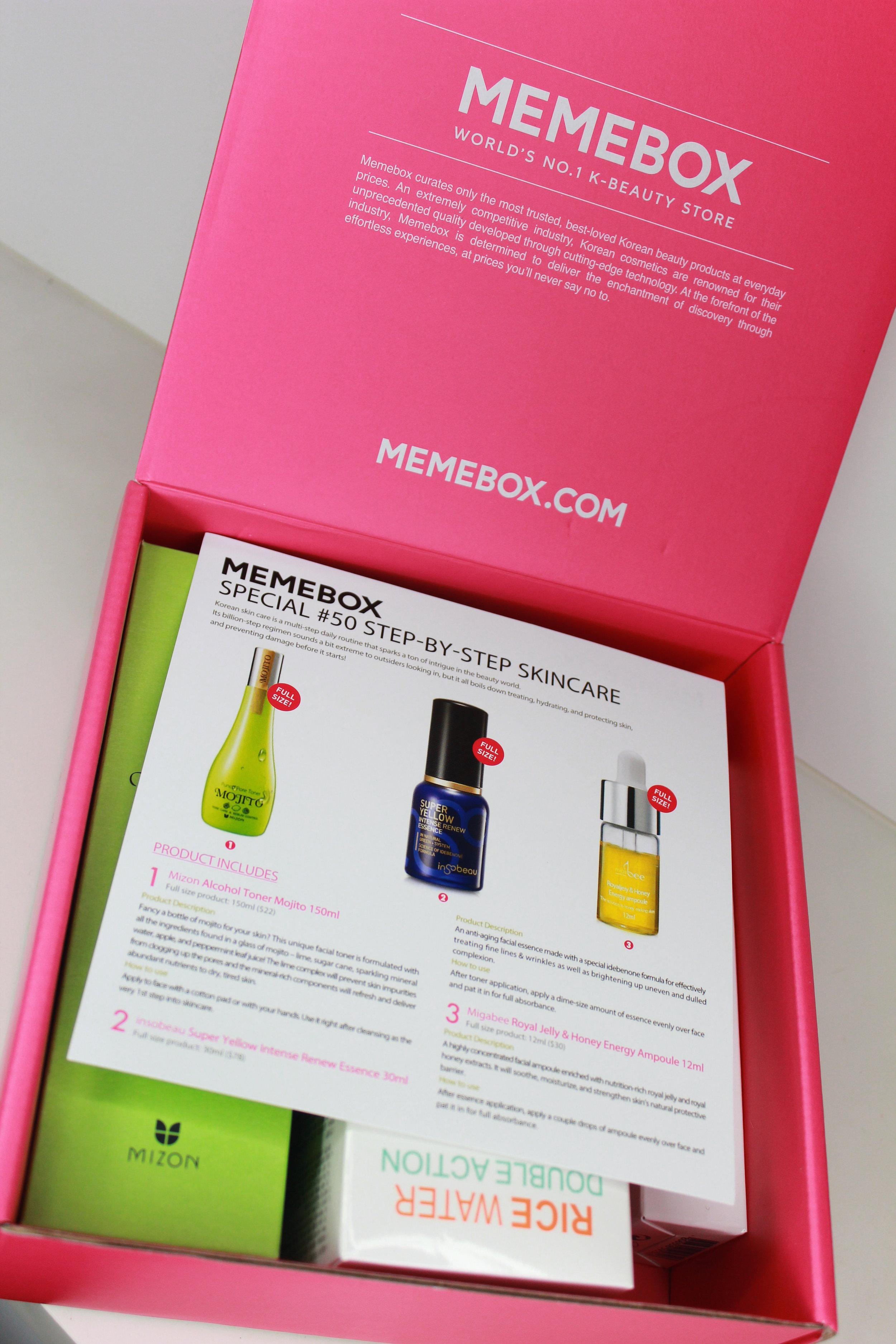 memebox skincare 1