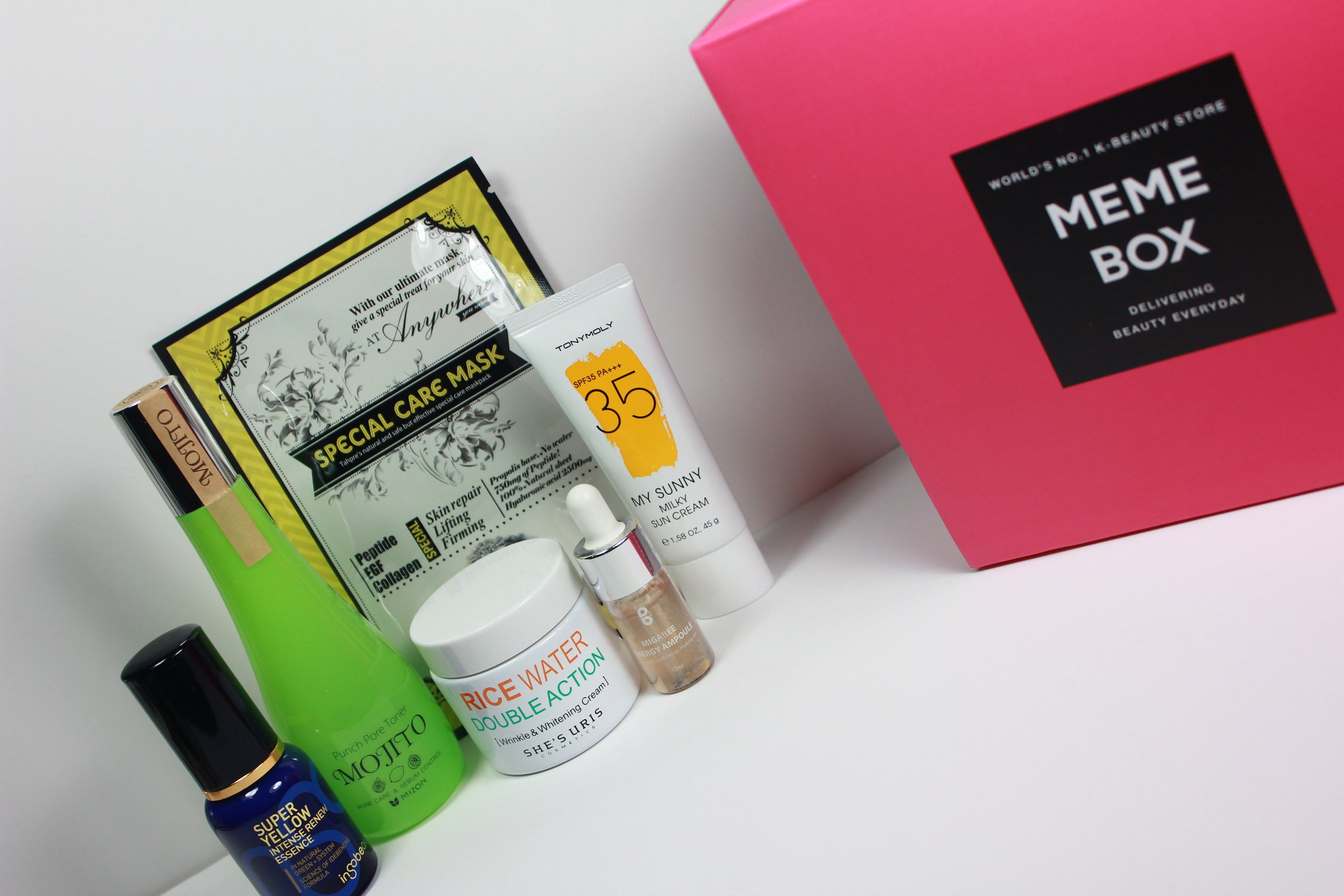 memebox skincare