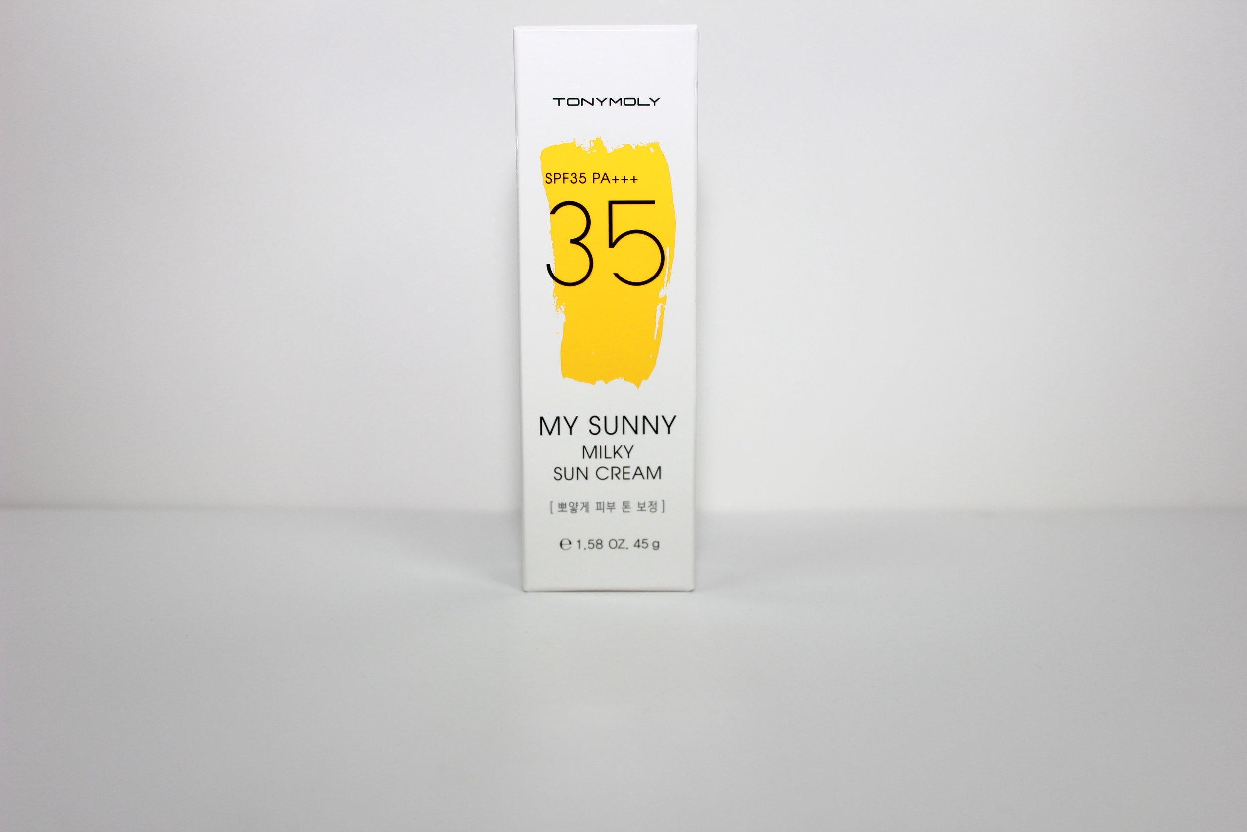 sunny suncreen skincare memebox 1