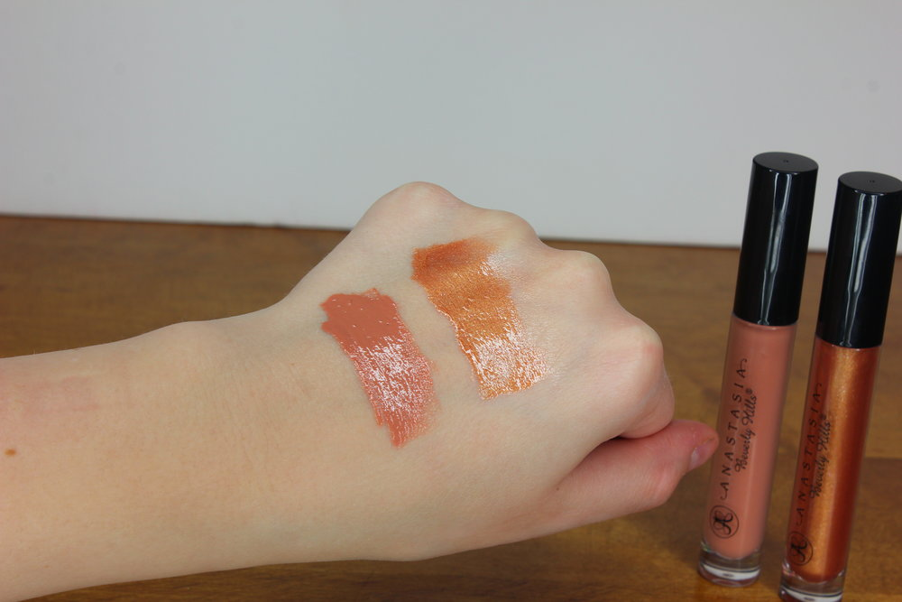 Anastasia Beverly Hills lip gloss reviews in Undressed, Gilded