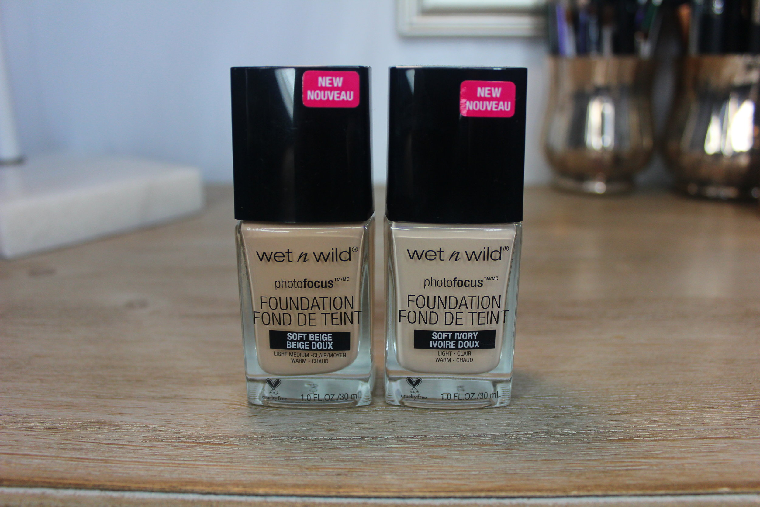 Drugstore Foundation Review Wet N Wild Beauty Photo Focus Luminary Artistry