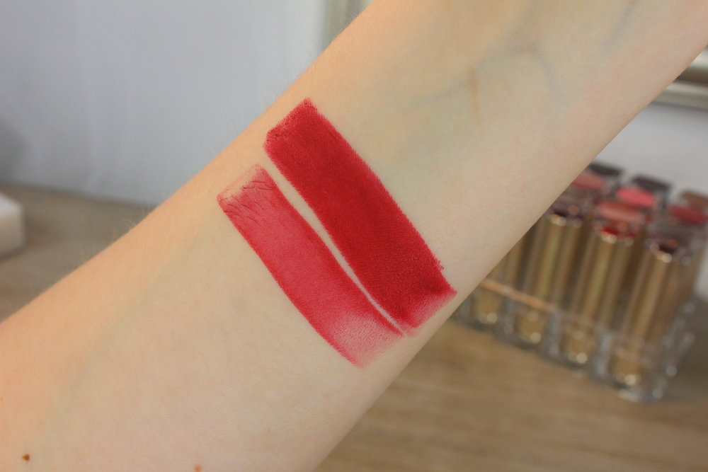 Estee Lauder Burning Love (320) swatch